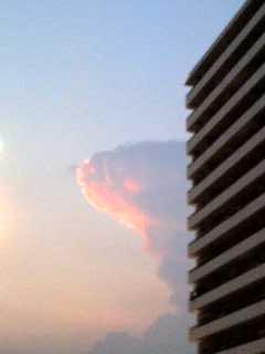 変な雲?????1