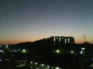 朝焼け(^_-)-☆