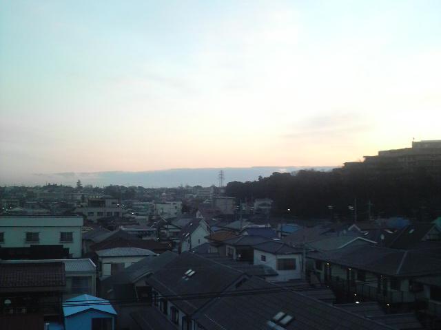 いい空(*^_^*)