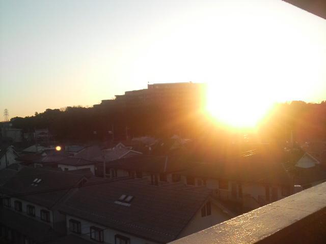 綺麗な朝日(*^^)v