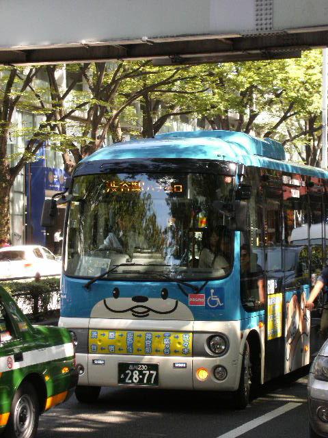 ハチ公バス(*^_^*)