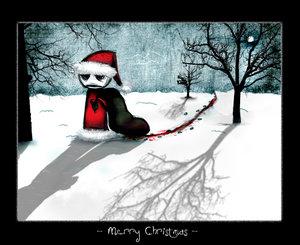 merry christmas emo