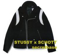 STUSSY x SCHOTT