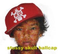 STUSSY CITY SKULL CAP