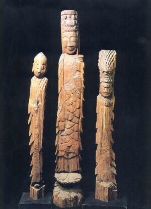 sanzo一木造り三像