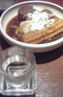 煮込みと日本酒♪