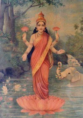 270px-Ravi_Varma-Lakshmi[1]