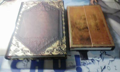アンティーク調な古書っぽいメモ帳
