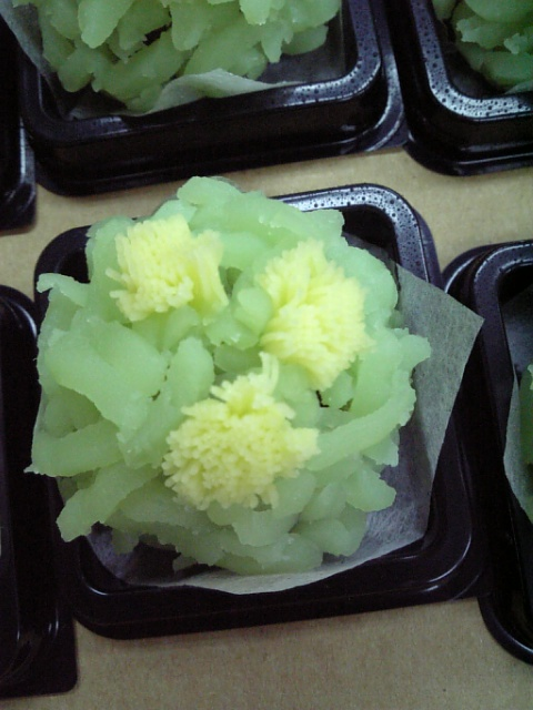 菜の花きんとん