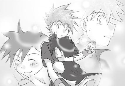 ぱっくん様から頂いた「相互記念小説」の挿絵4