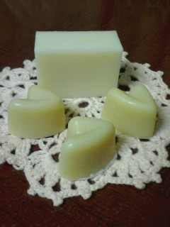 スイート☆オリーブ&馬油石鹸