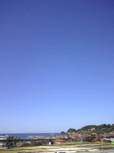 9月20日秋の青空