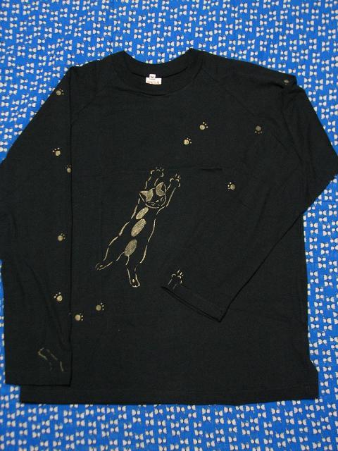長猫Tシャツ 004
