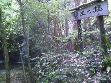 りゅうおうの滝