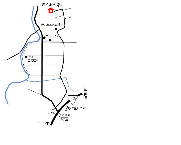 地図(きぐみの家)