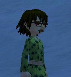 3Dメガネかけ