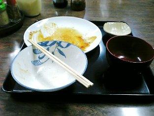 山田ホームレストラン本日の定食Aハンバーグ'08秋004