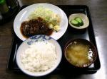 山田ホームレストラン本日の定食Aハンバーグ'08秋006