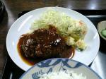 山田ホームレストラン本日の定食Aハンバーグ'08秋008