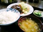 山田ホームレストラン本日の定食Aハンバーグ'08秋010