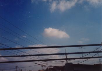 家や景色061103 猫の雲(鬼)