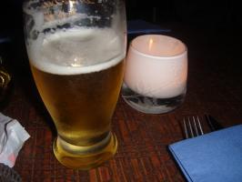 ビールですかね