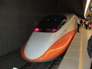 台湾新幹線(板橋駅)