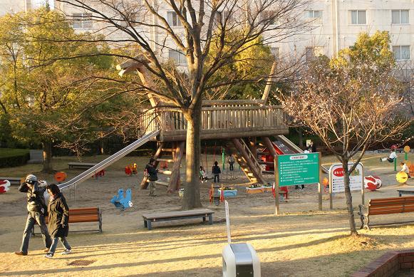 公園もあるよ~。