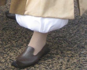 アラジンの足