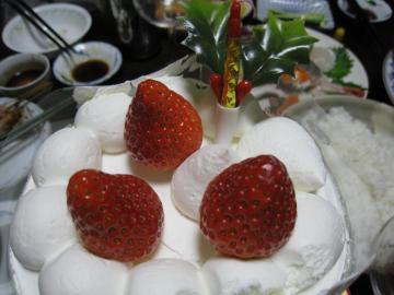 1等のケーキ