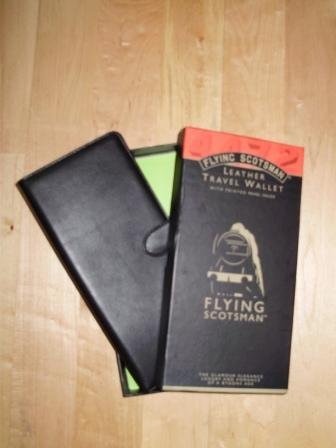 Flying Scotsman Travel Wallet