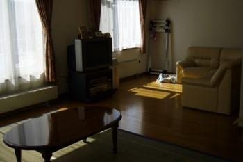和室だったところ。