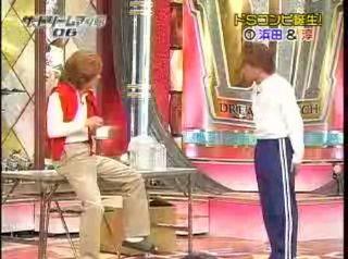 ダウンタウン浜田、ロンブー淳の面白漫才を視聴できます
