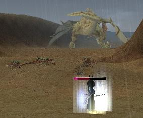 ついに出た、デザートドラゴン