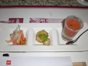 グリル前菜