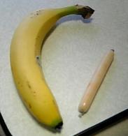 バナナとチーカマ