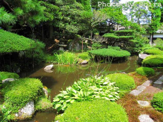 江戸初期に造られた庭園