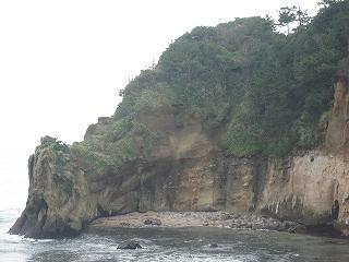 捕獲場所の岬