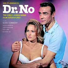 Dr. No OST front cover