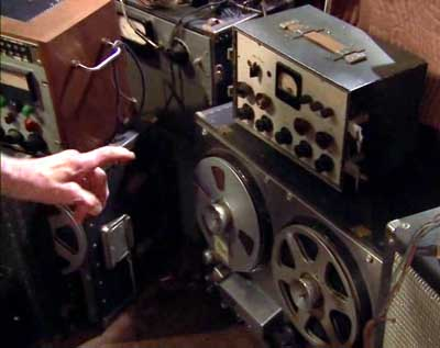 ampex model 200 tape machine