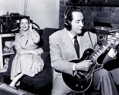 les paul and mary ford in the studio 1