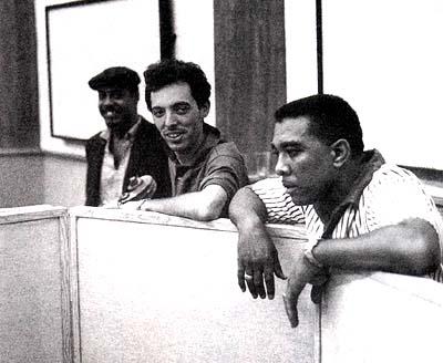 earl palmer, snuff garrett and ernie freeman at the united western recorder