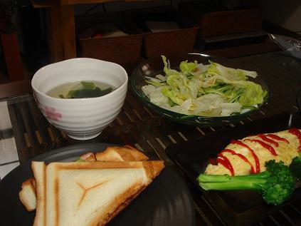 080501本日の朝ご飯