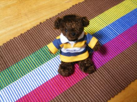 リップス織りクマさん付き