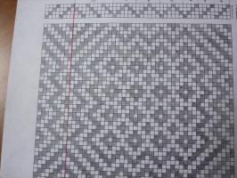 手描きの組織図
