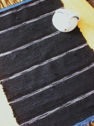 Bちゃんの裂き織り