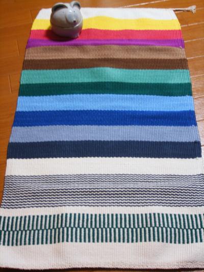 マット織りサンプル
