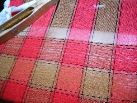 刺し子織りはじめました