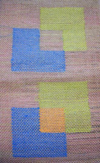 すかし織りサンプル2