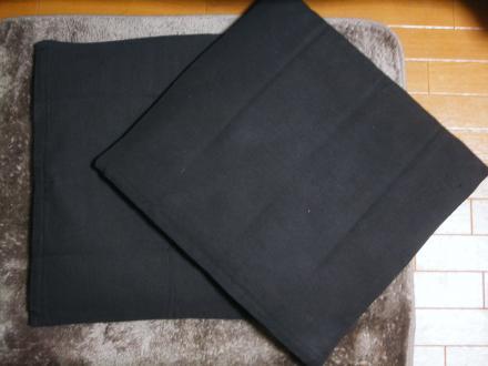 無印良品のインド綿手織座布団カバー